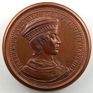 Ferdinand de Saint-Urbain   Médaille en bronze  47.5mm   Ferry de Bitche    SUP/FDC
