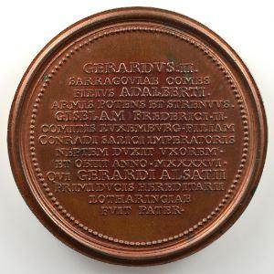 Ferdinand de Saint-Urbain   Médaille en bronze  47mm   Gérard II    SUP/FDC