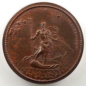Ferdinand de Saint-Urbain   Médaille en bronze  51mm   Philippe V, Roi d'Espagne    SUP/FDC