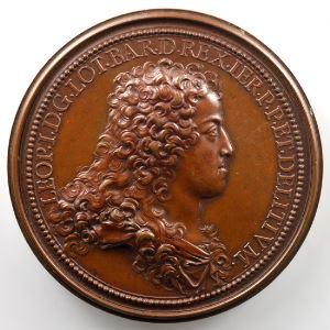 Ferdinand de Saint-Urbain   Médaille en bronze  58mm   Comblement d'une vallée profonde   1705    SUP/FDC