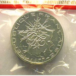 G.814P   10 Francs   1977 argent    FDC