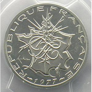 G.814P   10 Francs   1977 argent    PCGS-SP67    FDC
