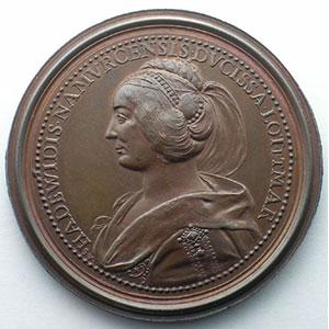 Gérard d'Alsace   bronze   47 mm    SUP