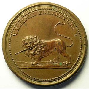 Gérard II   bronze   47 mm    TTB+