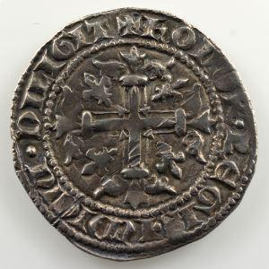 Gigliato d'argent   Charles II d'Anjou  (1285-1309)    TTB+