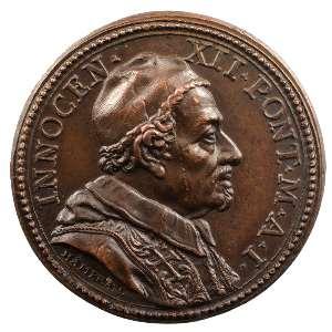 Giovanni Hamerani   Médaille en bronze   31mm   Election et couronnement    SUP