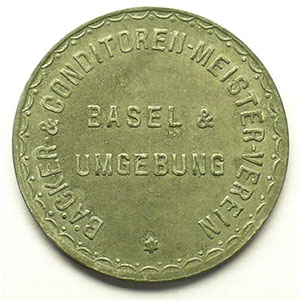 GUT FÜR 1 Ko. BROT   Zn,R,   25 mm   TTB+