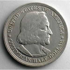 Half Dollar   1893   World's Columbian Exposition    TTB+