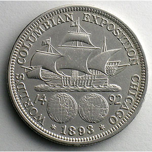 Half Dollar   1893   World's Columbian Exposition    TTB+