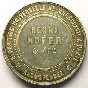 Henri HOFER & Cie    TTB/SUP