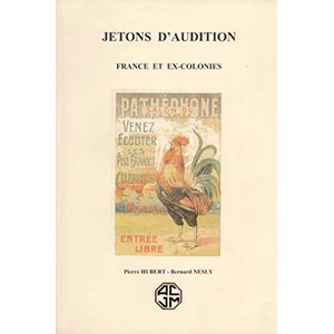 HUBERT P./NESLY B.   Catalogue des jetons d'Audition