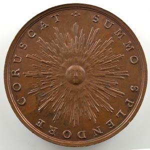 J.C. HEDLINGER   Naissance du Dauphin Louis   bronze  41mm    SUP/FDC