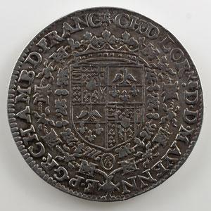 Jeton en argent   Charles de Lorraine-Guise et Henriette de Savoie-Villars    TTB