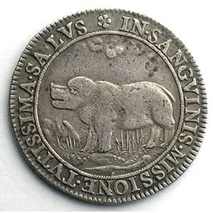 Numismatic foto  Münzen Jetons und Medaillen Jetons des alten Regims Chirurgiens-Barbiers jeton rond en argent   1645    TTB