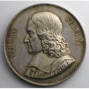 Jeton rond en argent  36mm   Académie Royales des sciences, inscriptons et belles-lettres   1822    SUP
