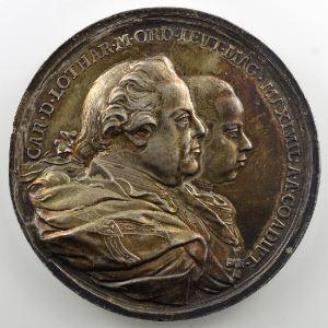 Johann Martin Krafft   Médaille en argent   51mm   1770    SUP