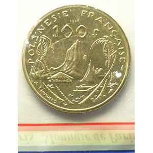 Lec.123   100 Francs  1976 Essai    FDC