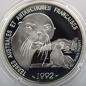 Lec.3   100 Francs Otarie   1992    BE