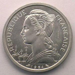 Lec.34   2 Francs   1964 Essai    FDC