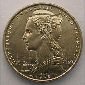 Lec.38   5 Francs   1948 Essai    SUP