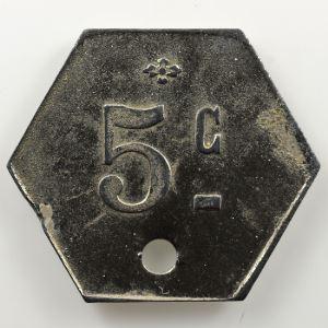 Lec. manque   5 c.  ZnNi, Hexagonal troué   TTB+