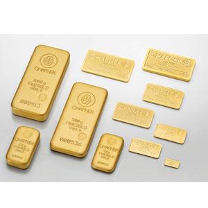 Lingotins d'or fin 999,9 mill.   C-HAFNER seit 1850  Germany    NEUF sous blister numéroté