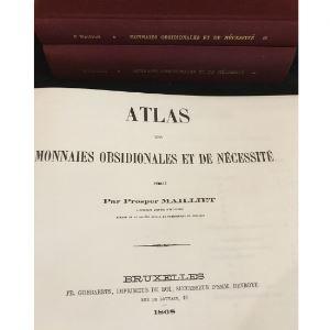 MAILLET Prosper   Catalogue descriptif des monnaies obsidionales et de nécessité