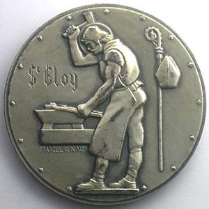Marcel Renard   Médaille en argent   59mm   Usine de Moulinelle à Jarny    SUP