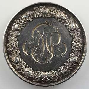 MERLEY   Jeton en argent  37mm   1872    SUP/FDC