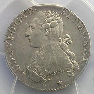 Numismatic foto  Münzen Französische königlische Münzen Louis XVI   (1774-1792) G.354   1/5 Ecu 1788 W  (Lille)    PCGS-AU53    TTB+