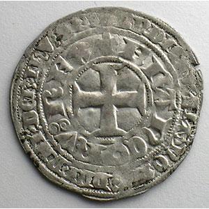 Numismatic foto  Münzen Französische königlische Münzen Charles V   (1364-1380) Duplessy 363   Blanc au K 20 avril 1365    TTB