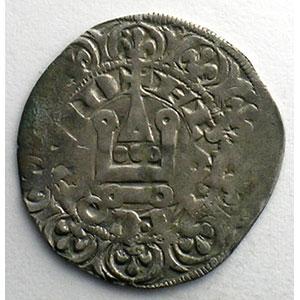 Numismatic foto  Münzen Französische königlische Münzen Charles IV   (1322-1328) Duplessy 243   Maille blanche 3° émission 24 juillet 1326    TB+