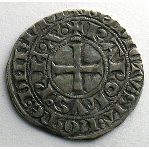 Numismatic foto  Münzen Französische königlische Münzen Charles IV   (1322-1328) Duplessy 243   Maille blanche 3° émission 24 juillet 1326    TTB