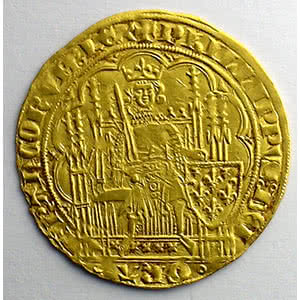 Französische königlische MünzenPhilippe VI   (1328-1350)