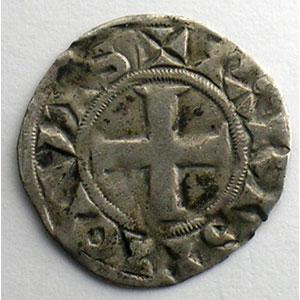 Numismatic foto  Münzen Französische königlische Münzen Louis VII   (1137-1180) Duplessy 146   Denier 3° type Paris    TB+/TTB
