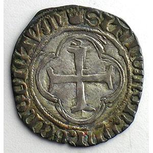 Numismatic foto  Münzen Französische königlische Münzen Louis XI   (1461-1483) Duplessy 553   Blanc au Soleil Point 4°   Montpellier    TTB