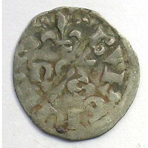 Numismatic foto  Münzen Französische königlische Münzen Philippe IV   (1285-1314) Duplessy 233   Obole Bourgeoise TB+