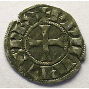 Numismatic foto  Münzen Französische königlische Münzen Philippe IV   (1285-1314) Duplessy 223   Denier Tournois à l'O rond TTB/TTB+