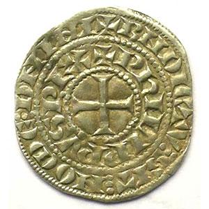 Numismatic foto  Münzen Französische königlische Münzen Philippe IV   (1285-1314) Duplessy 219   Maille tierce à l'O rond TTB