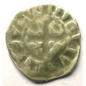 Numismatic foto  Münzen Französische königlische Münzen Philippe IV   (1285-1314) Duplessy 223 bis   Denier Tournois FRAPPE INCUSE TTB