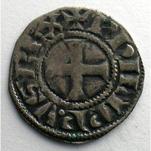 Numismatic foto  Münzen Französische königlische Münzen Philippe IV   (1285-1314) Duplessy 223   Denier Tournois à l'O rond TTB