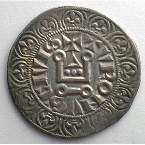 Numismatic foto  Münzen Französische königlische Münzen Philippe IV   (1285-1314) Duplessy 213   Gros Tournois à l'O rond TTB+