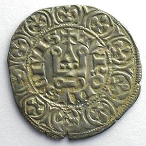 Numismatic foto  Münzen Französische königlische Münzen Philippe IV   (1285-1314) Duplessy 219   Maille tierce à l'O rond TTB+