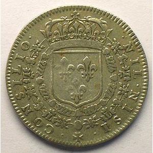 Numismatic foto  Münzen Jetons und Medaillen Jetons des alten Regims Conseil du Roi Jeton rond en argent   1657    TB/TB+