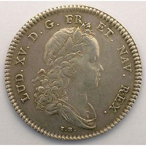 Numismatic foto  Münzen Jetons und Medaillen Jetons des alten Regims Secrétaires du Roi jeton rond en argent   Louis XV   1715    TTB