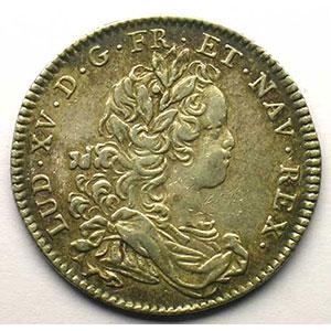 Numismatic foto  Münzen Jetons und Medaillen Jetons des alten Regims Extraordinaire des Guerres jeton rond en argent   Louis XV   1716    TB+/TTB
