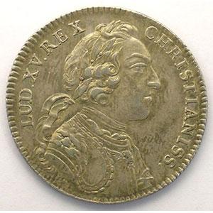 Numismatic foto  Münzen Jetons und Medaillen Jetons des alten Regims Extraordinaire des Guerres jeton rond en argent   Louis XV   1745    TTB