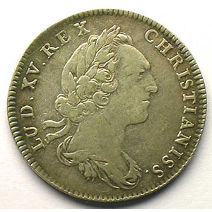 Numismatic foto  Münzen Jetons und Medaillen Jetons des alten Regims Ordinaire des Guerres jeton rond en argent   Louis XV   1752    TTB
