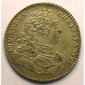 Numismatic foto  Münzen Jetons und Medaillen Jetons des alten Regims Artillerie et Génie jeton rond en argent   Louis XV    TTB