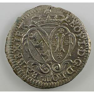 Numismatic foto  Münzen Lothringische Münzen Herzogtum von Lothringen Léopold I   (1690-1729) 5 Liards    SUP
